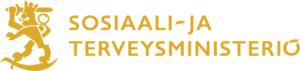 Sosiaali ja terveysministeriö logo